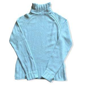 Fine knit Angora wool blend sweater size Small
